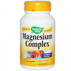 Nature's Way, Magnesium Complex, 100 Caps