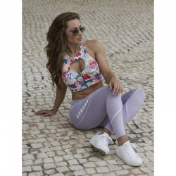 BUMBUM FIT LEGGING LILAC WHITE