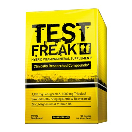 Pharma Freak Test Freak 120 Caps