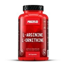 Prozis L-Arginine L-Ornithine 500 mg 60 Veg Caps