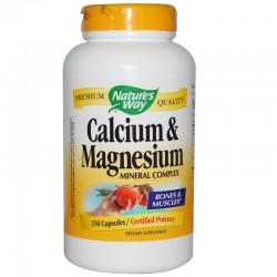 Calcium & Magnesium 250 Capsules