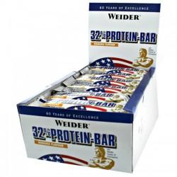 Weider 32% Protein Bars 24 Bars x 60 g
