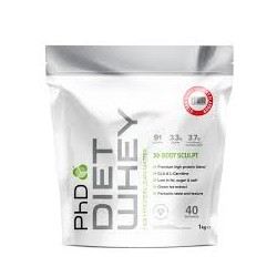 PhD Diet Whey 2000 g - 80 Servings