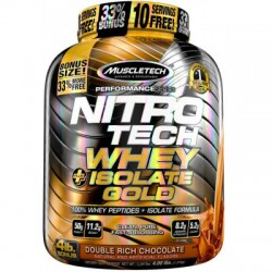 Muscletech Nitrotech Whey Isolate Gold 4 Lbs