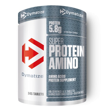 Dymatize Super Protein Amino 345 Tabs -115 Servings
