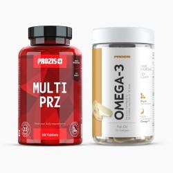 Multi PRZ 60 Tabs + Omega 3 90 Softgels