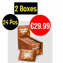 MyProtein Protein Brownie Bars 12 x 75 g