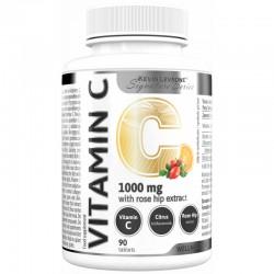Prozis Vitamin C 1000 mg + Rosehip 120 Tabs