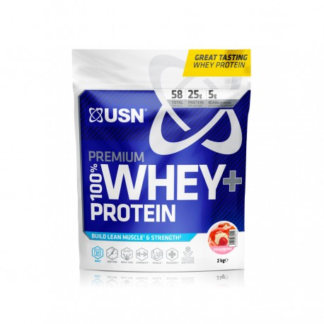 USN 100% Whey Protein Premium 2KG - 58 Servings