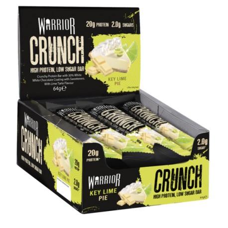 Warrior Crunch Protein Bar - Key Lime Pie 12x64 g